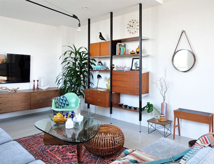 Mid century modern themed house | Interior stylism | Pinterest | Mid ...