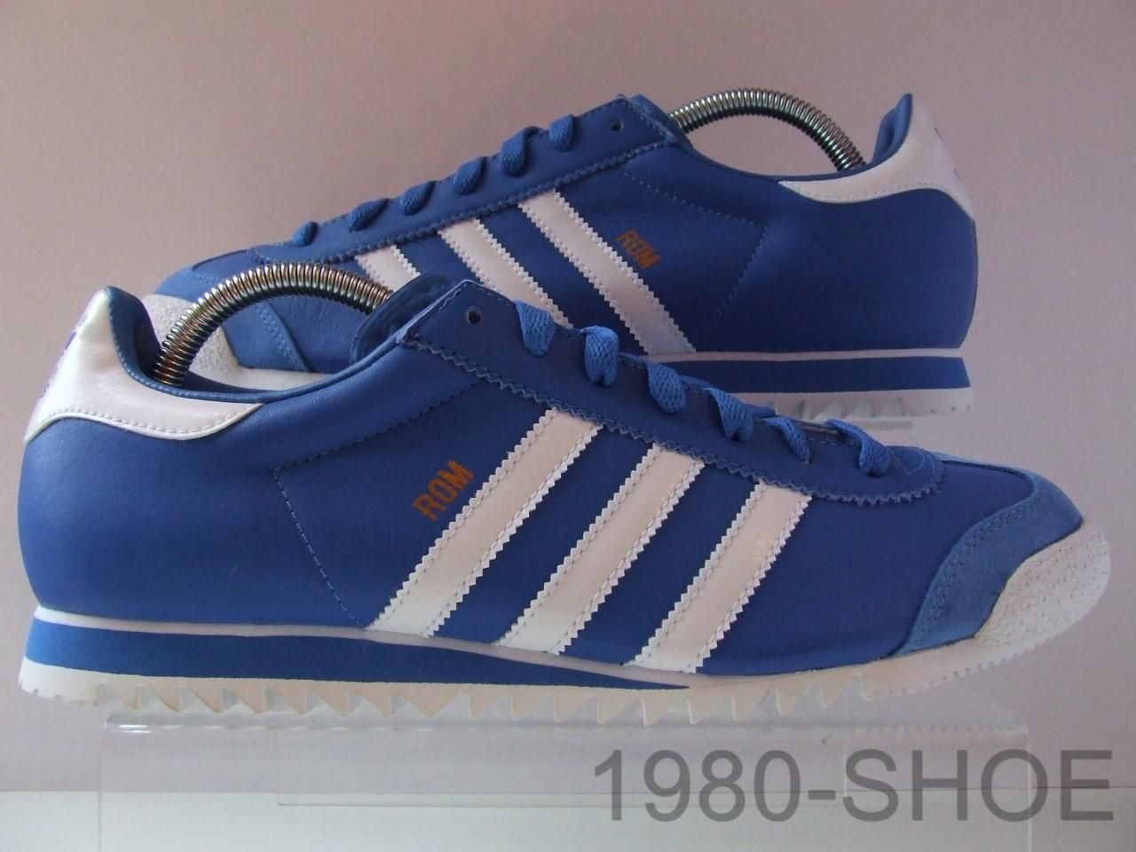 RARE Adidas ROM Bluebird Blue White Mens Trainers BNIB