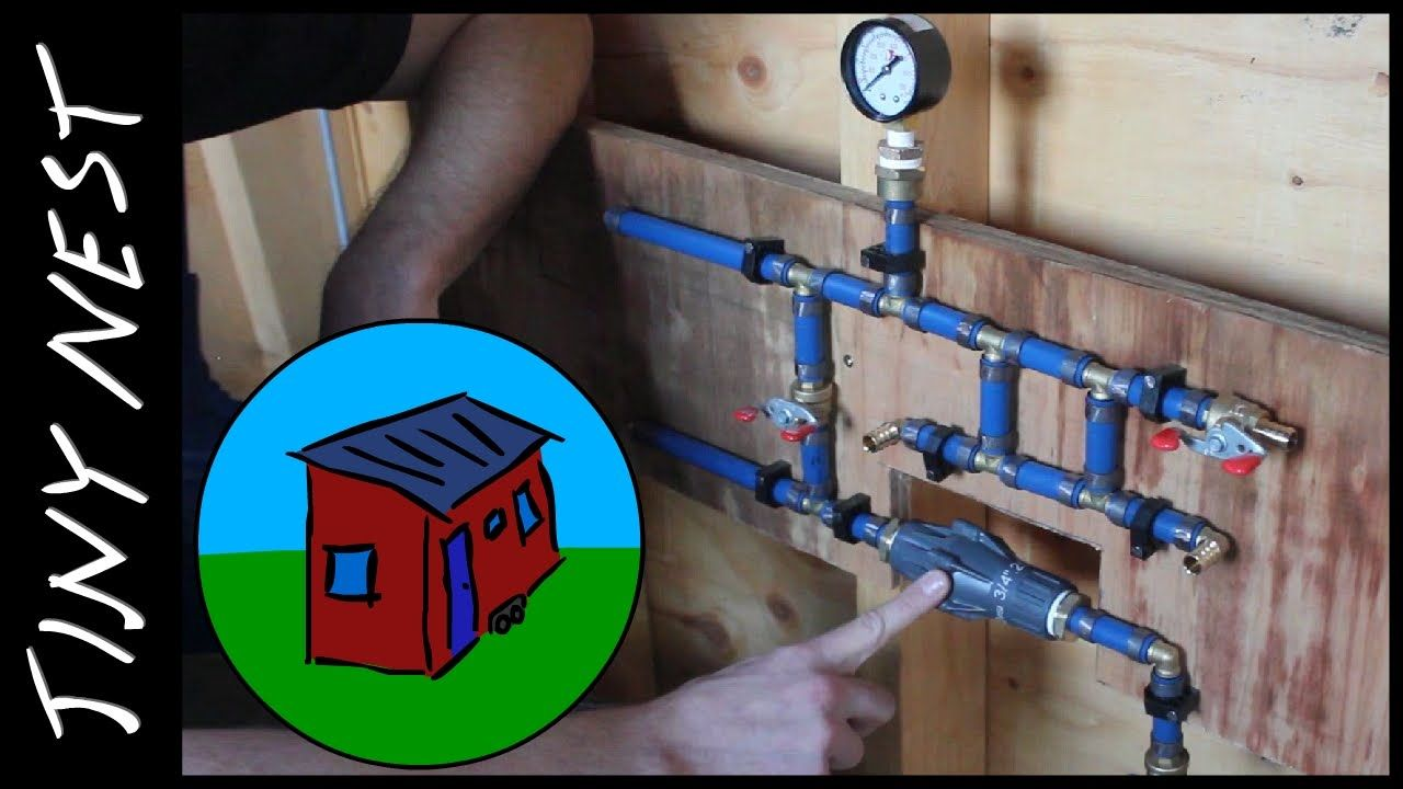 tiny house water system. YouTube | Tiny House Living: Design \u0026 Construction Pinterest Houses, Nest And Building Water System I
