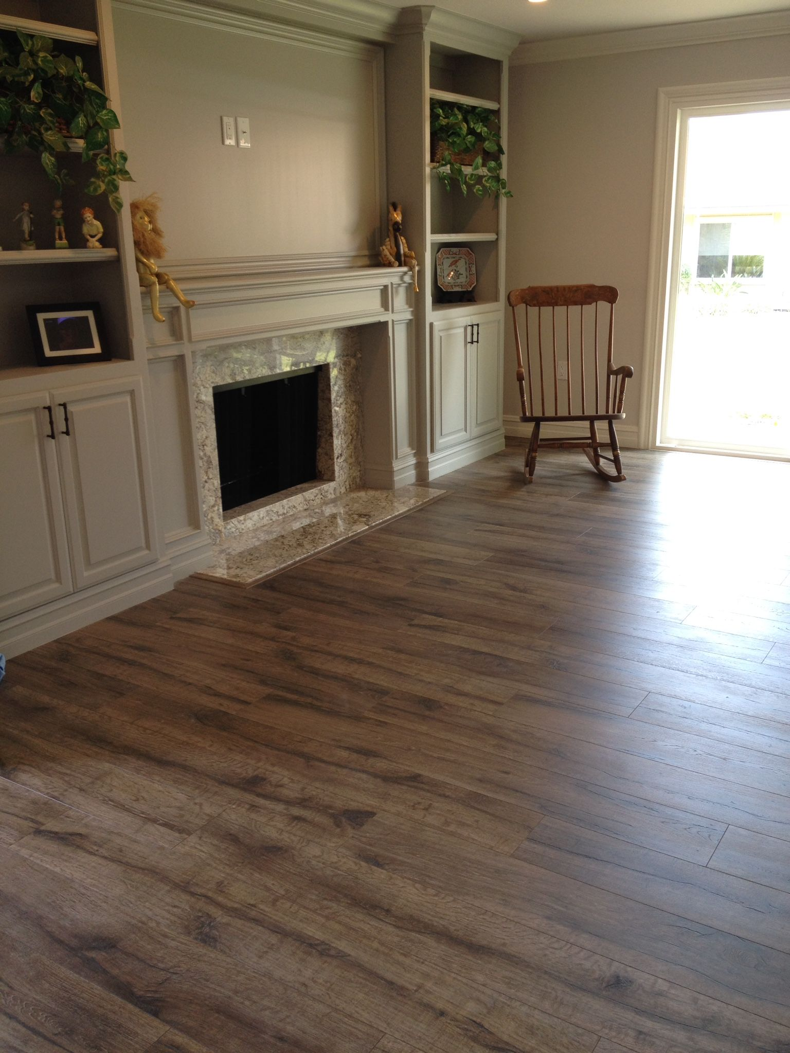QuickStep Heathered Oak looks in Caren B.'s