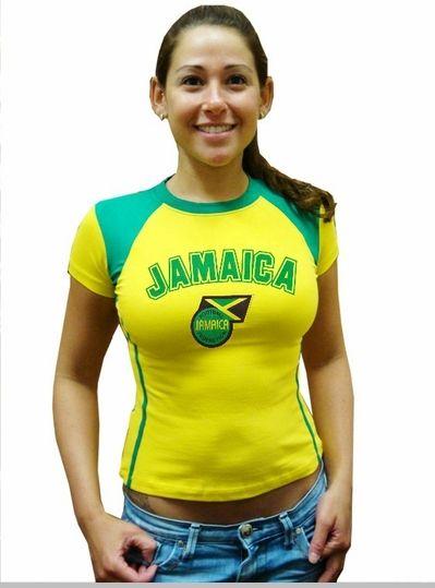 quality design 2a597 4ef63 Girls International Soccer Jersey (Jamaica)   World Cup ...