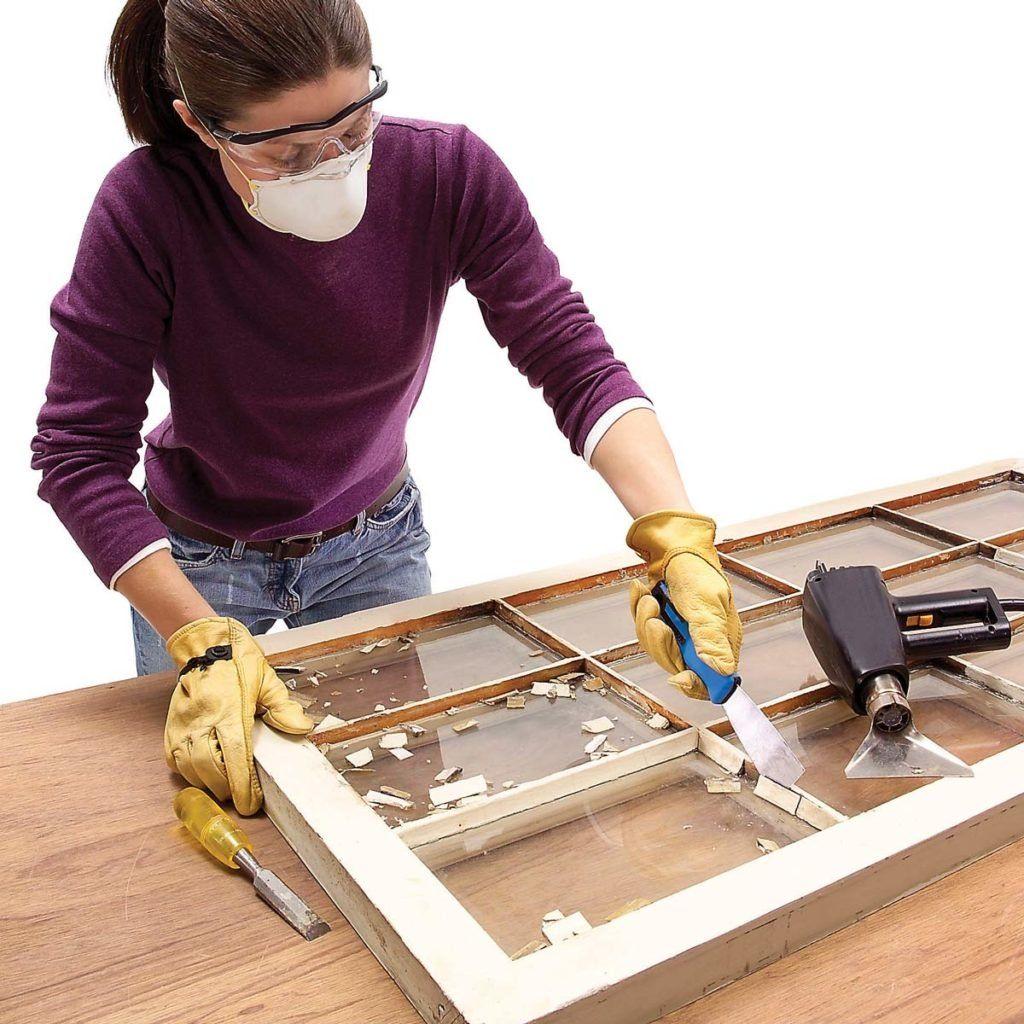 How to Glaze a Window (Single Pane) Window repair