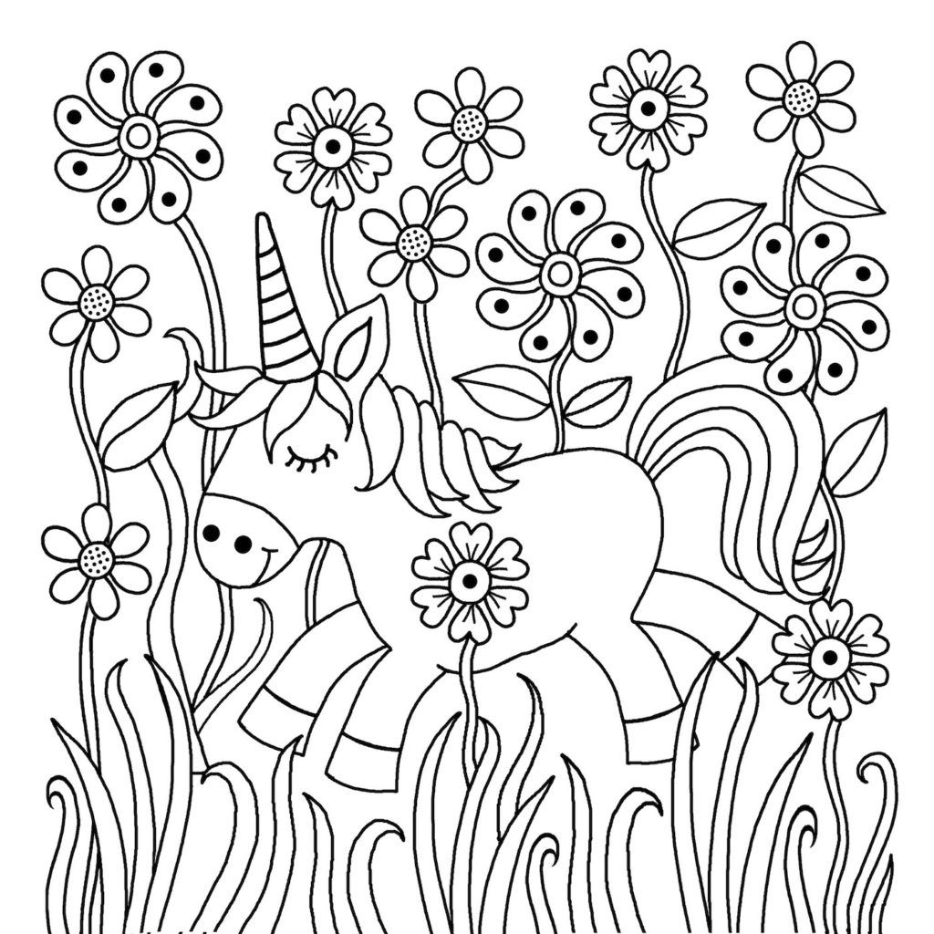 - Downloadable Colouring Page From The I Heart Unicorns Colouring