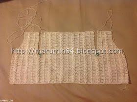Marumin Crochet: Conjunto Neutral para Bebé / Baby Boy Neutral Set
