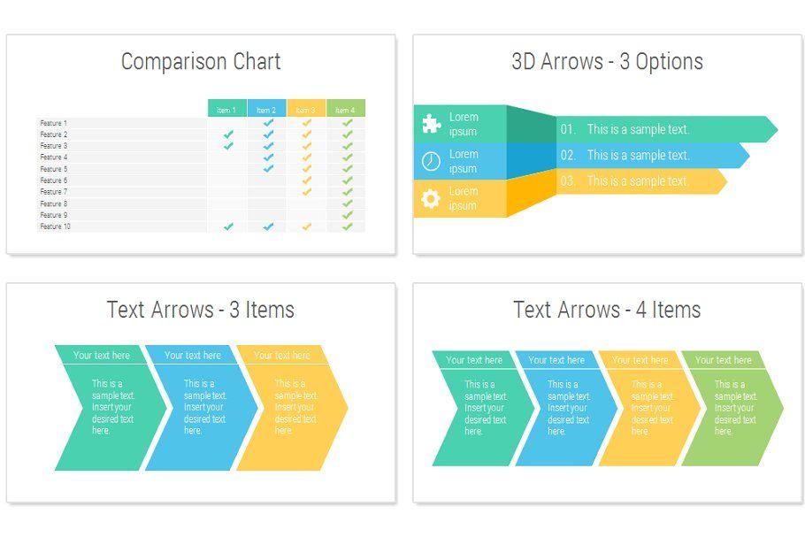 Modern Squares PowerPoint Template , spon, preslides