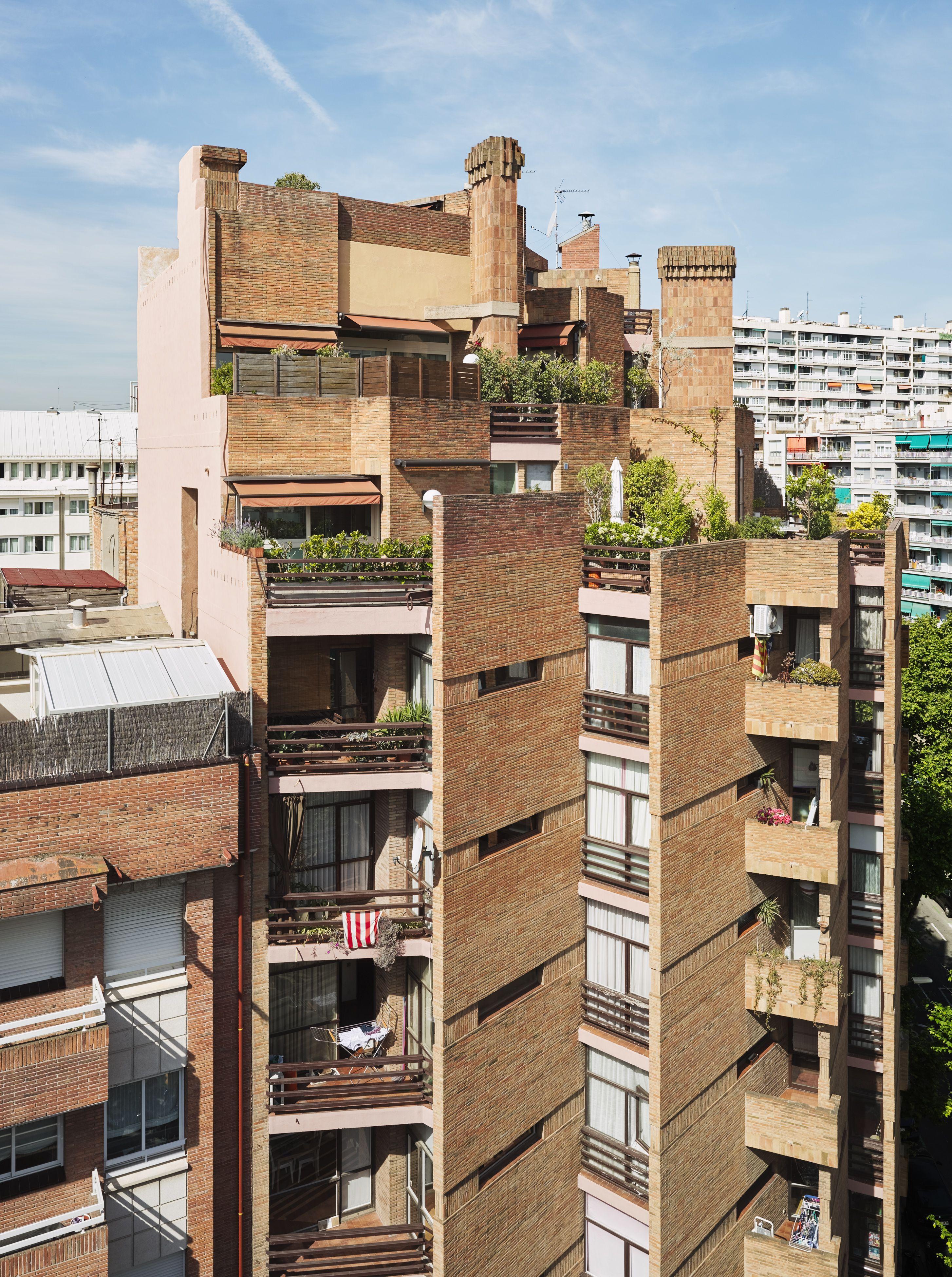 Nicaragua Apartment Building In Barcelona, Spain Ricardo Bofill Taller De