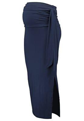Falda larga - navy blazer