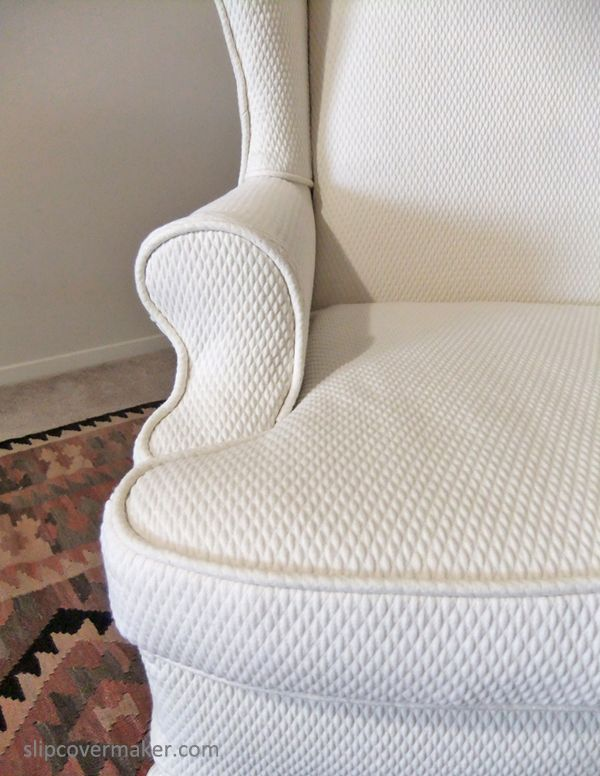 Matelasse Slipcover By Karenu0027s Custom Slipcovers