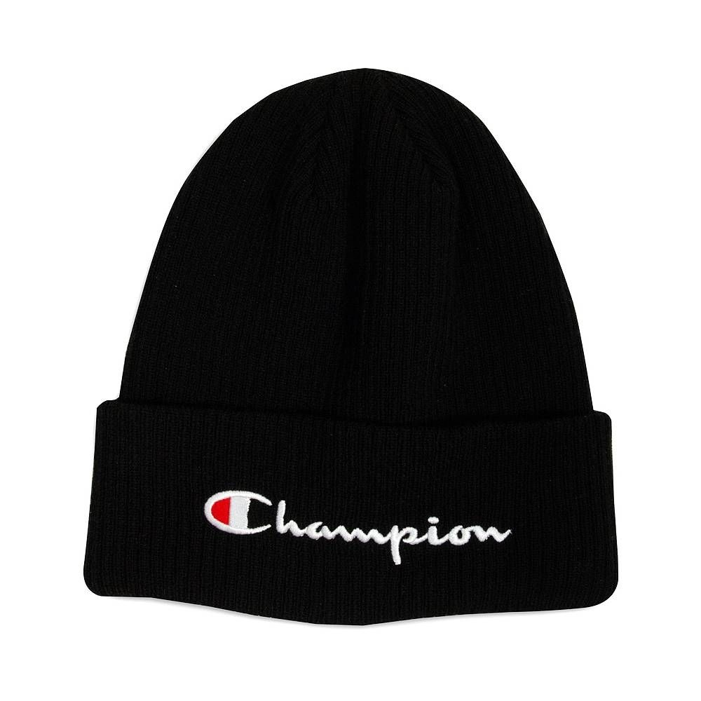 206af9a22 Champion Script Logo Beanie in 2019 | JOURNEYS | Beanie outfit ...