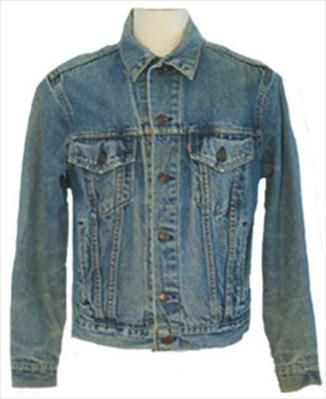 1980s Faded Denim Jacket  $40.00
