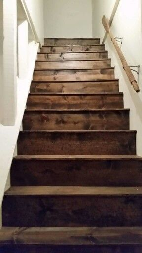 Best Replace Carpet On Stairs With Pine Boards Stair 640 x 480