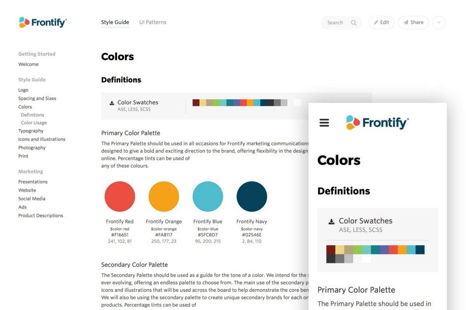 The Best Designer Tools Collection Style Guide Design Brand Guidelines Template Style Guides