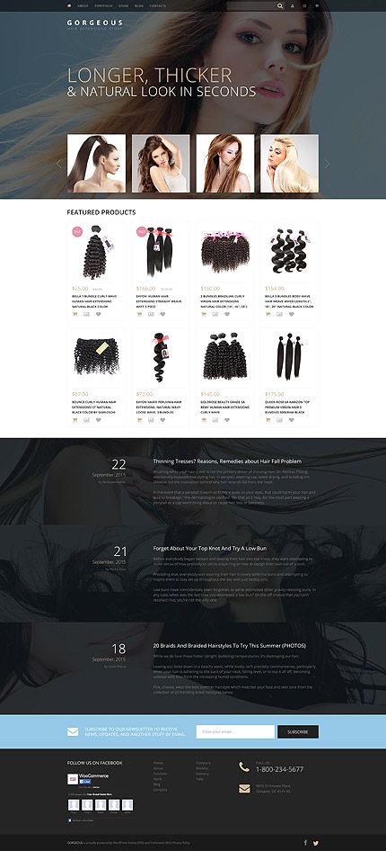 Hair extensions online store woocommerce template themes hair extensions online store woocommerce template themes business responsive pmusecretfo Gallery