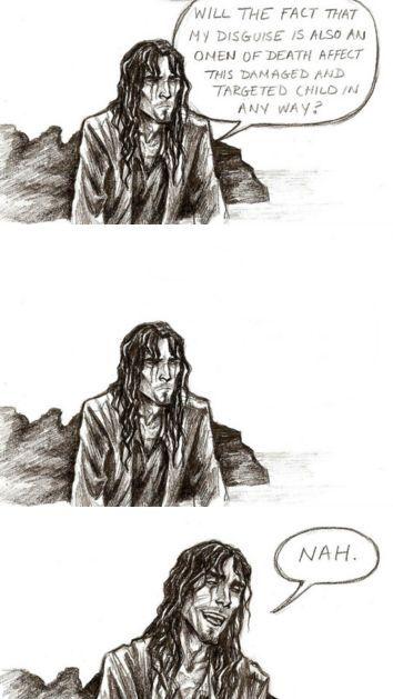 Sirius black gotta love the godfather part 3