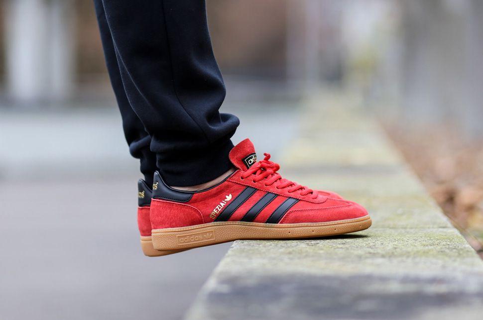 """pretty nice 79b4e a04ac adidas Spezial """"Red, Black  Gum"""""""