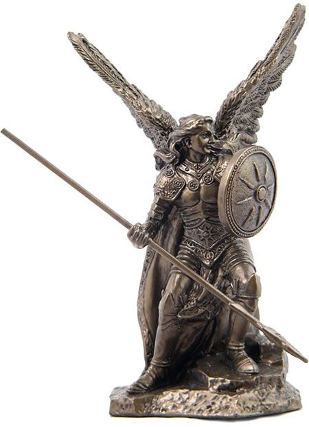 Archangel Raphael Religious Figurine Statue Sculpture Statuary Home D Cor Decorations Christian Related Gifts