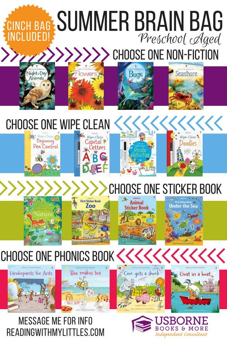 Summer Slide Brain Bags Usborne Books & More Usborne