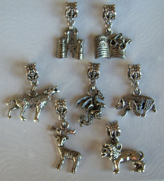 """Set of 2 Charms /""""Indian/"""" Theme"""