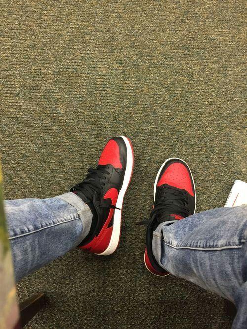 Jordan 1 Low Bred Sneakers In 2019 Sneakers Nike Sneakers