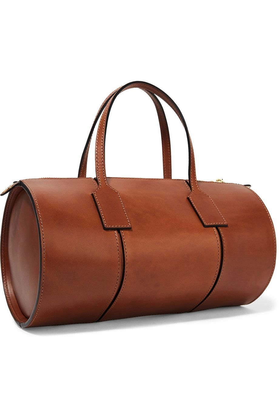 Loewe Barrel Leather Tote Net A Porter Com Bag