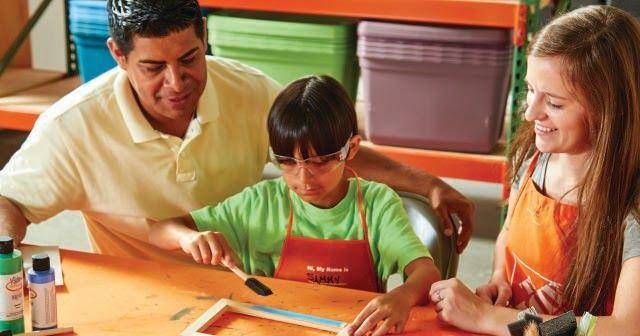 FREE Home Depot Kids' Workshop this Saturday!  Register in advance here:  http://goo.gl/DiKSZQ