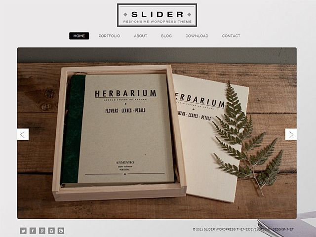 Slider Free WordPress Theme #freebie #wordpress #theme #wp #design ...