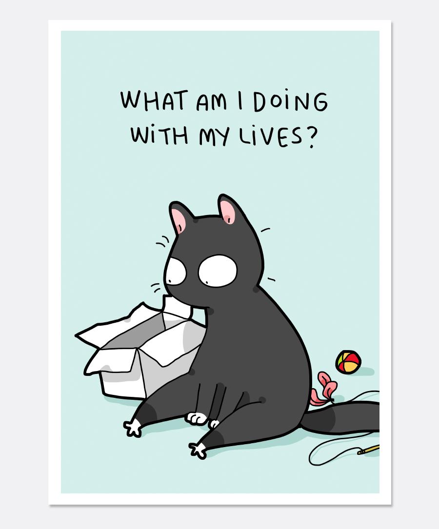 Prints Lingvistov Online Store Cat Quotes Funny Cat Quotes Cat Obsession