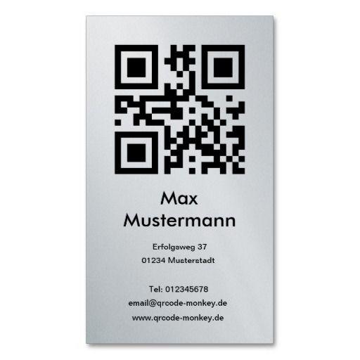 Visiting Card Platinum Individually Shapable Business