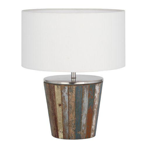 Bloomsbury Market Biskoupky 43cm Table Lamp Table Lamp Wood Table Lamp