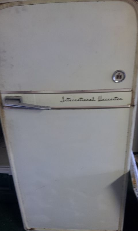 Vintage Refrigerator By International Harvester Why Yes It Does