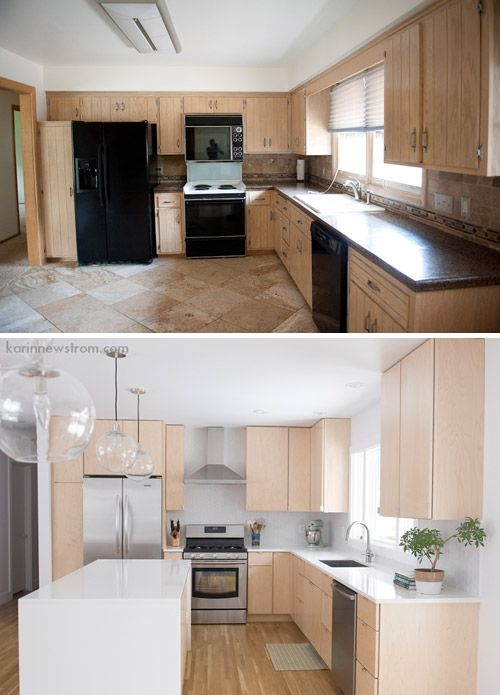 Reader Redesign So Fresh Young House Love Kitchen Redesign Kitchen Remodel Kitchen Remodel Small