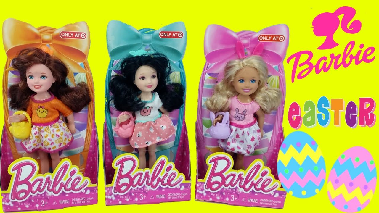 Barbie Minis Easter Exclusive Collection toy videos for children ToyBoxMagic - here we are opening unboxing a set of Easter Exclusive Barbie Minis dolls and they are absolutely adorable. These little barbie dolls would make the cutest Easter gifts for a Barbie lover! Enjoy!