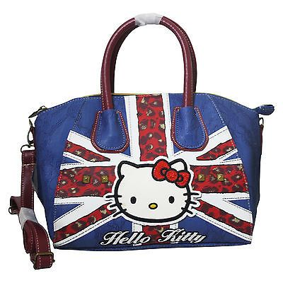 Hello kitty england flag #woman bag #bowling bag barrel handbag #shoulderbag,  View more on the LINK: 	http://www.zeppy.io/product/gb/2/252109892687/
