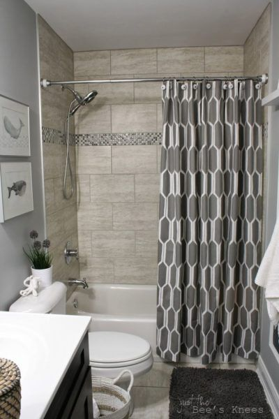 23 Elegant Bathroom Shower Curtain Ideas Photos Remodel And