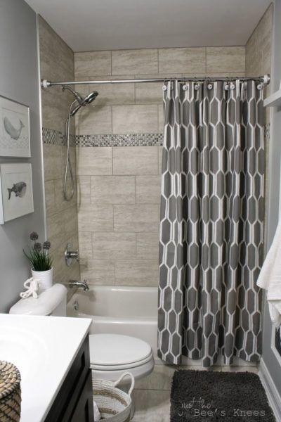 Shower Curtain Ideas For Gray Bathroom