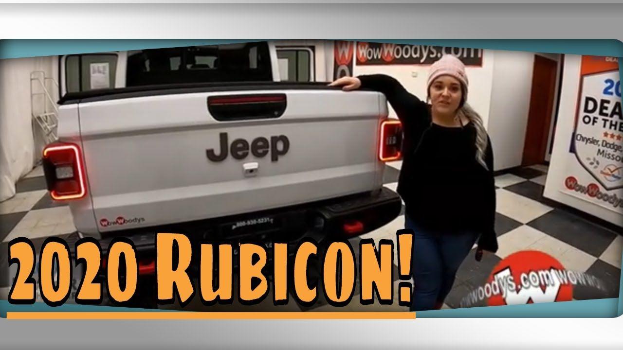 2020 Jeep Gladiator Rubicon Video Walkthrough At Wowwoodys In