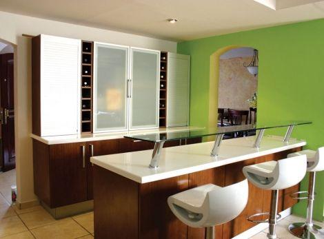 Decoración de Cocinas con Barra Pequeña - Para Más Información - cocinas con barra