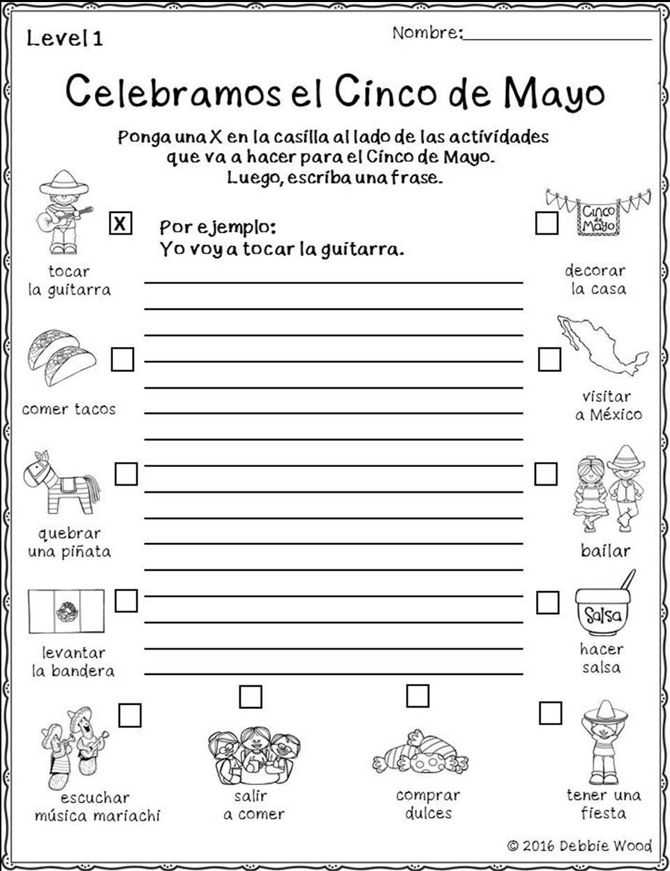 Study The History And Cultural Aspects Of Cinco De Mayo With Your Spanish Language Class This Elementary Spanish Grammar Worksheets Spanish Teaching Resources