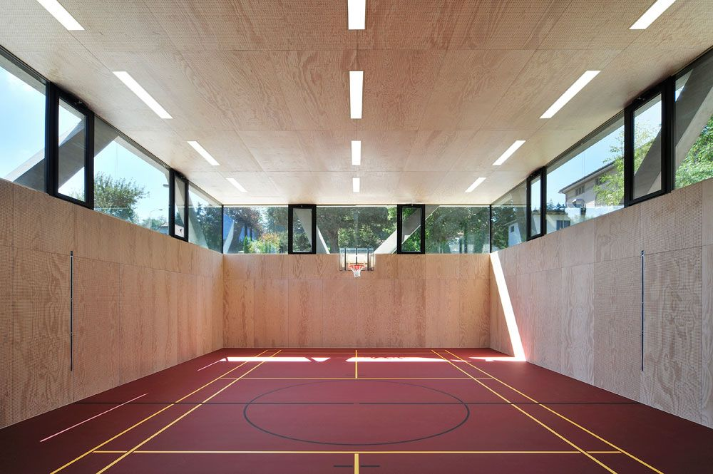 Gymnasium Sport Hall Space Architecture Indoor Basketball Court