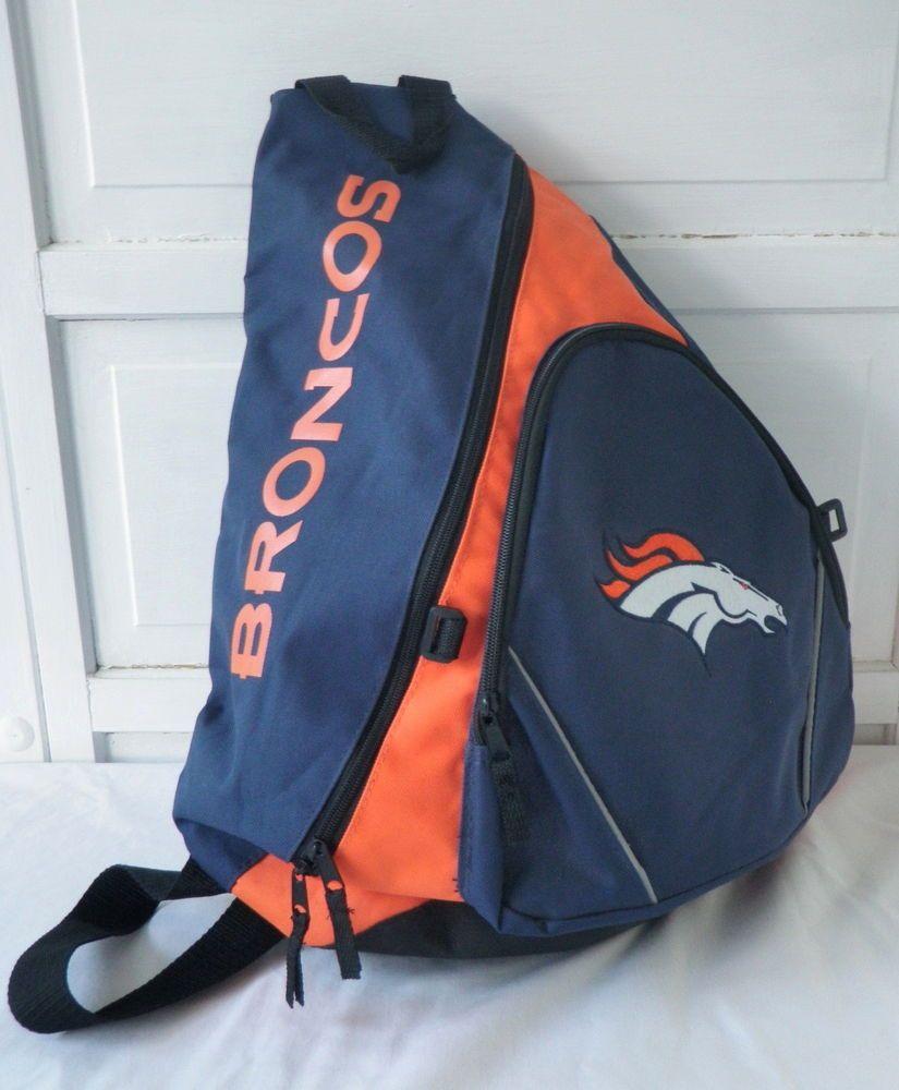 6bb56a14 Denver Broncos Slingback Bag One Shoulder Backpack NFL Shop Blue ...