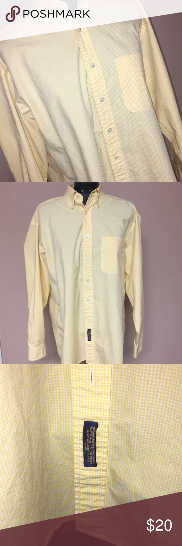 Tommy Hilfiger tailored Button Up dressPlaid Shirt Great color for all those summer tans! Pocket on front. Light weight fabric. Used but in great condition. Tommy Hilfiger Shirts Dress Shirts