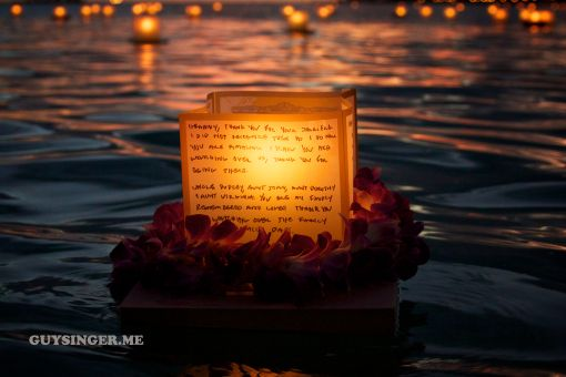 Guy Singer Photography Shinnyo En Lantern Floating Ceremony