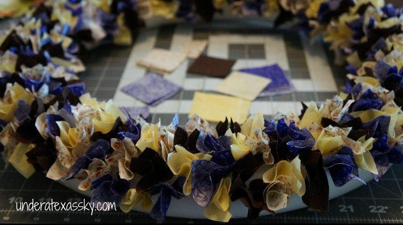 Photo of Turn Fabric Scraps into a Fun Fall Wreath