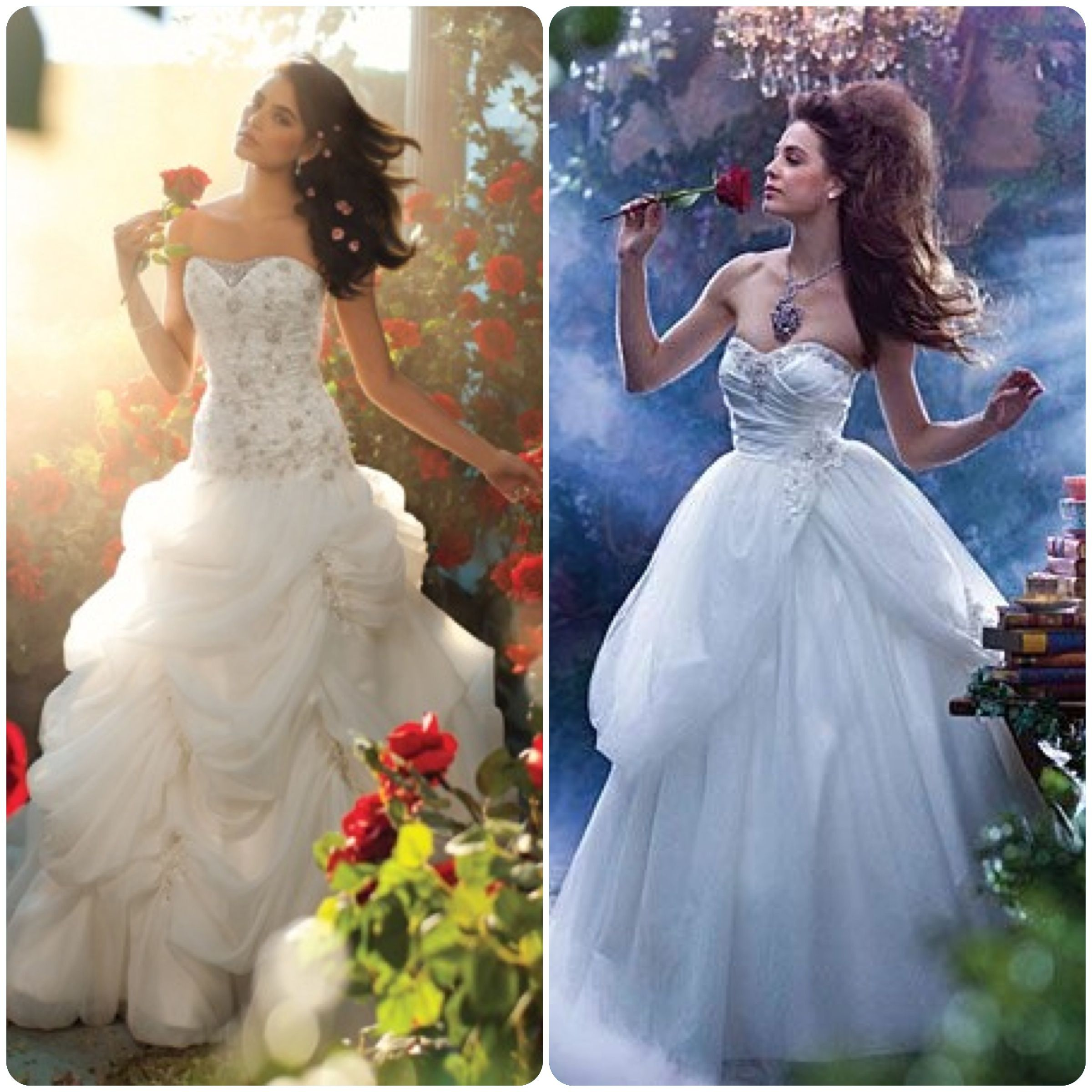 Belle Disney Princesse Princess Mariage Wedding Robe Dress Alfred AngeloWedding