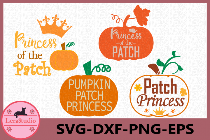 Princess of the Pumpkin Patch Svg, Pumpkin Patch (433177) | SVGs | Design Bundles