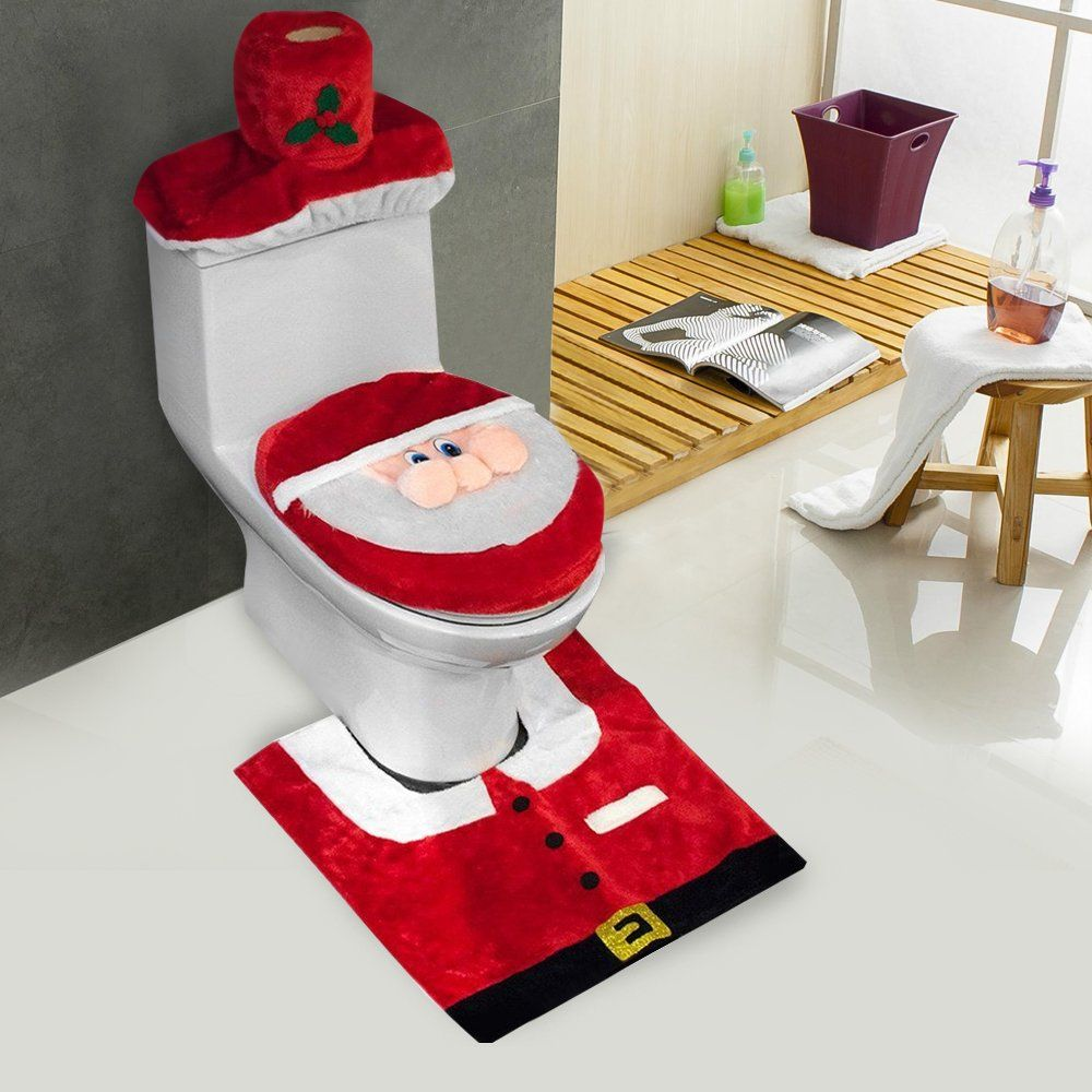 Crazy Gifts Ever Christmas Bathroom Decor Funny Christmas Decorations Cozy Christmas Decor