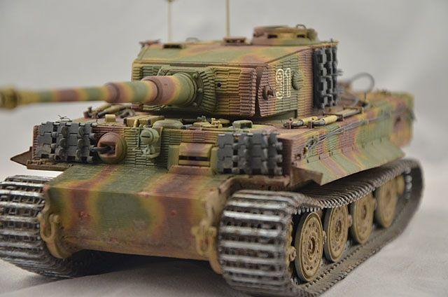 Fertige Modelle und Dios » Panzerbefehlswagen Tiger