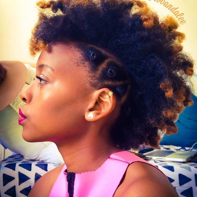 AFRO PUNK - SIDE BANTU KNOTS 👑👑➰➰ If you obey all the rules, you miss all the fun 😏