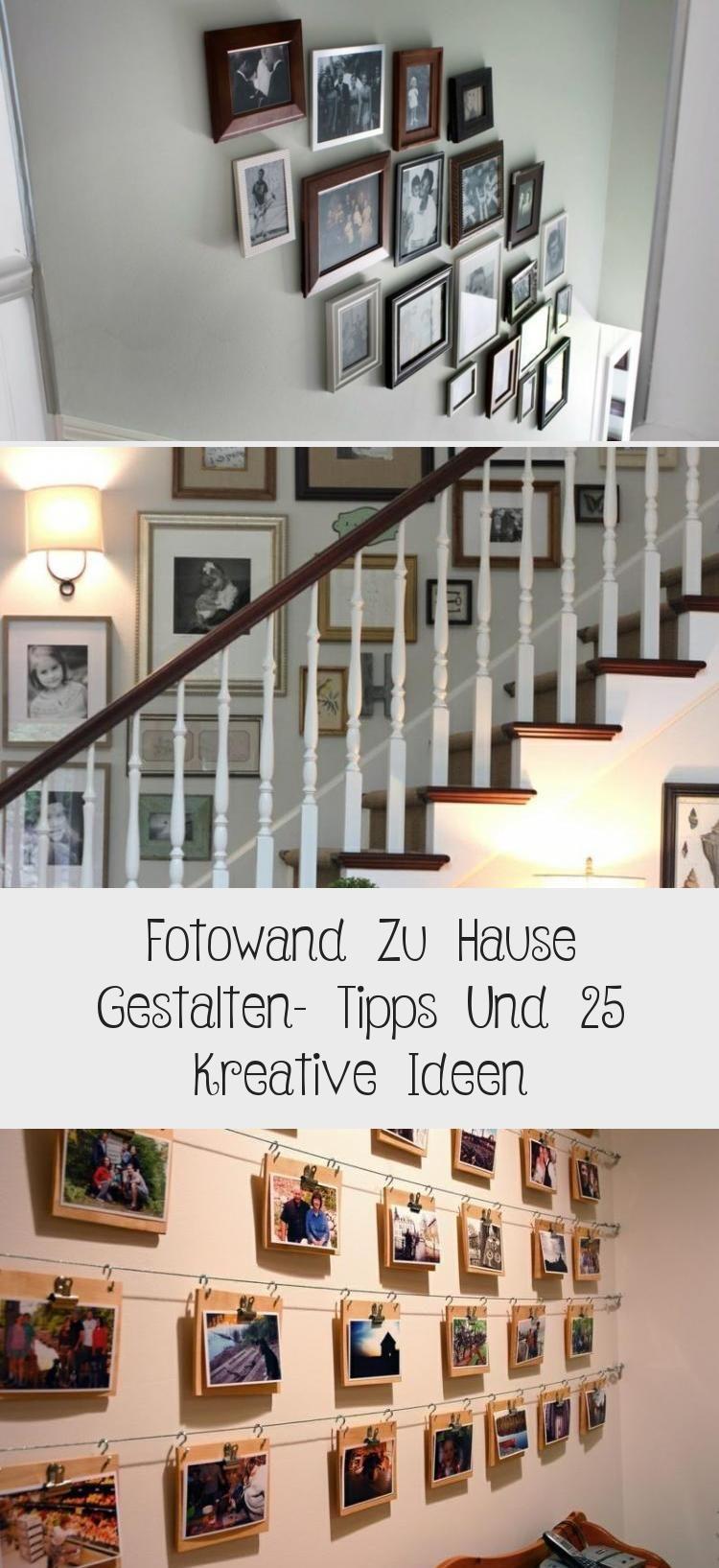 Fotowand Zu Hause Gestalten Tipps Und 25 Kreative Ideen Haus Gestalten Bilder Aufhängen Ideen Fotowand