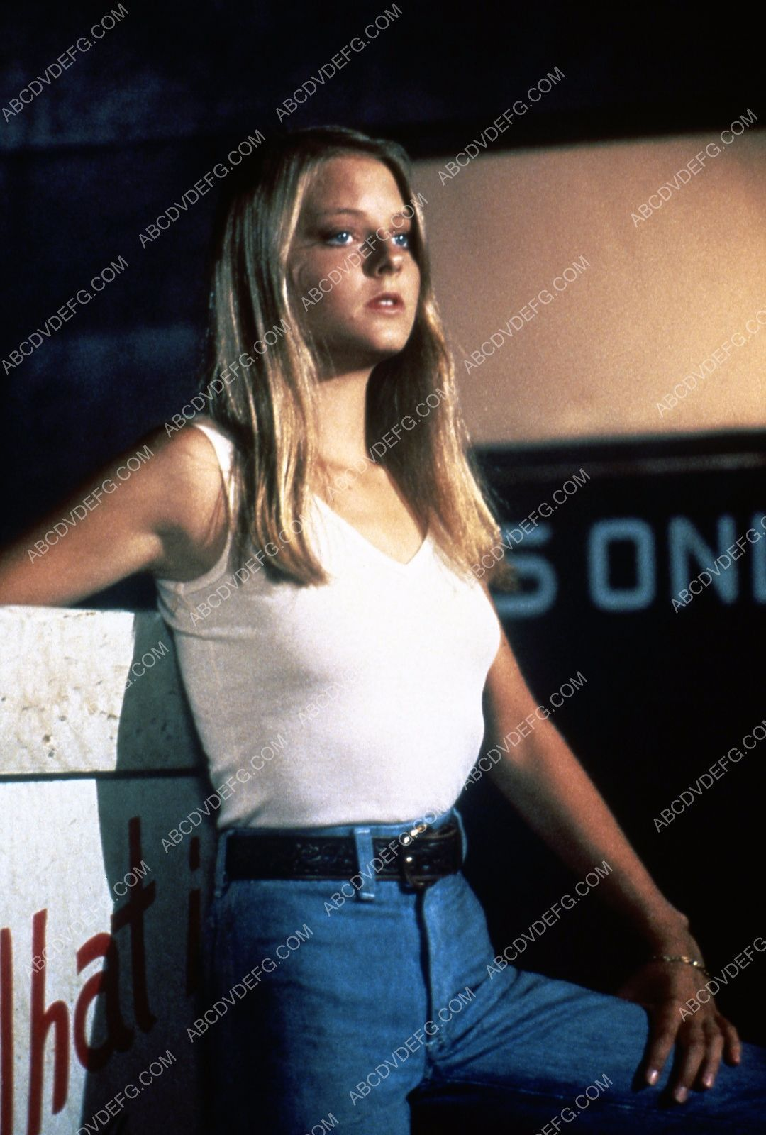 Jodie Foster film Carny (I think) 35m-4194 | Colour images ...
